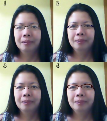 Semi rimless womens eyeglass frame - TheFind
