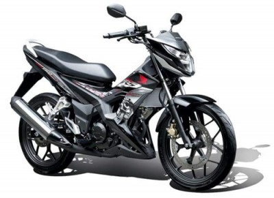 Honda RS150 black